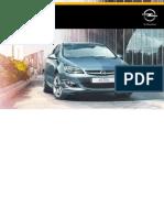 Opel Astra Instruktionsbog Danish