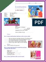 Aqua Barbie Girl Activities With Music Songs Nursery Rhymes 42268