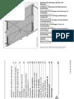 Notice de Montage Porte de Garage Basculante Debordante Primo Acier Blanc 200 x 237cm 1