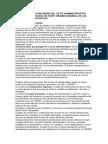 Revisión de actos administrativos en España