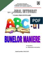 Optional Abcul Bunelor Maniere Cp 2018-2019