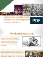 revolucion industrial y estallido de la primera guerra mundial