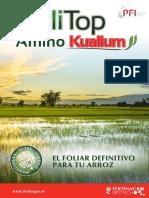 Folitop Aminokualium Arroz Biotech