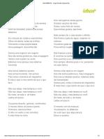 MOVIMIENTO - Jorge Drexler (Impressão) - Tradução