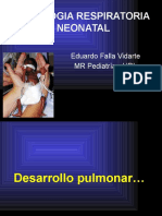 Fisiologia Respiratoria Dr. Falla