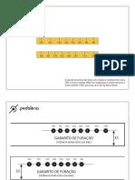 Rolo de Treino Pedaleria-Projeto e Materiais