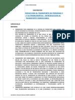 INTRODUCCIÓN AL TRANSPORTE FERROVIARIO