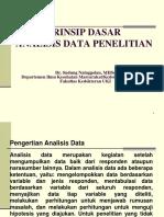 Prinsip Dasar Analisis Data