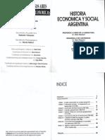 Historia Económica y Social Argentina a Distancia