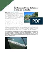 RECORRIENDO BOCAS DEL TORO EN BICICLETA.docx