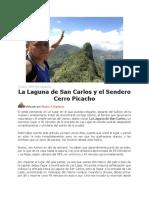 Laguna de San Carlos y El Cerro Picacho - Ene 2017