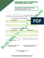 Modelo - Edital de Divulgação Comissão Interna de Prevenção de Acidentes (CIPA) - Blog Segurança do Trabalho.pdf