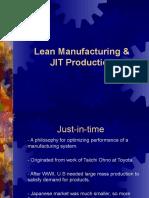 Lean Manufacturing & JIT