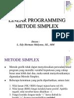 4 Linear Programming Metode Simplex