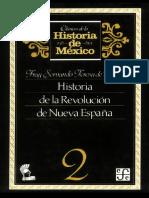 (Clasicos del la Historia de Mexico, Tome 2) Teresa de Mier-Historia de la Revolucion de Nueva Espana -Instituto Cultural Helenico Fondo Cultura Economica Mexico (1986).pdf