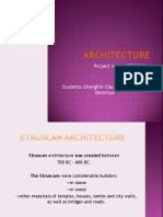 Etruscan Architecture