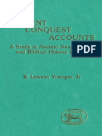 (Journal for the Study of the Old Testament. Supplement Series _ 98) Younger, K. Lawson-Ancient Conquest Accounts _ a Study in Ancient Near Eastern and Biblical History Writing-JSOT Press (1990)