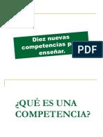 169270648 LAS 10 COMPETENCIAS Philipp Perrenoud Ppt