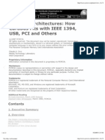 New Bus Architectures - How CardBus Fits With IEEE 1394, USB, PCI and Others