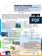 Autonomous Grasping a Project Poster at Khalifa Univ