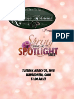 2018 Spring Spotlight at Quietcove
