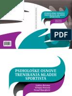 Psihološke Osnove Treniranja Mladih Sportista2011