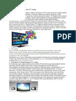 Pengertian TV Digital Dan TV Analog