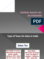 Central Sales Tax Overview