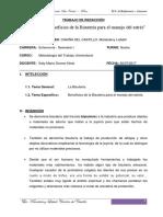 ENSAYO de BISUTERIA Mandaleny Chaiña Del Castillo