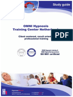 OMNI Hypnosis Training Study Guide