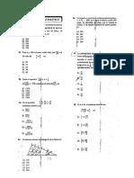 Admision UNT 2018 - Area B (Matematicas)