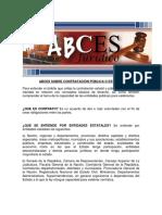 LECTURA ABCES Contratacion Publica o Estatal.pdf