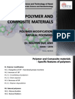 Polymer and Composite Materials - Polymer Modification