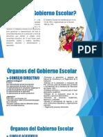 Diapositivas Del Gobierno Escolar