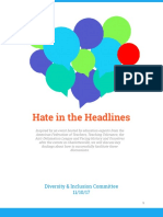 parent resources - hate in headlines - whole packet