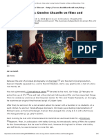Observations on Film Art » New Colors to Sing_ Damien Chazelle on Films and Filmmaking » Print