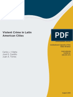Violent Crime in Latin American Cities