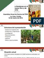 1.Posicionando a Honduras en El Mercado de Cacao Fino y de Aroma