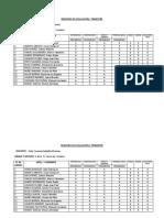 Registro de Evaluación i Trimestre Kelly Saldaña