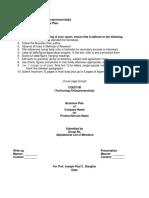 Devt1 - Business Plan & Lean Canvas