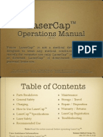 LaserCap Operations Manual Version 3.0 2014