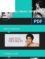 influential female artists in music