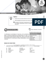 Guía LC-37 ENTRENAMIENTO Estrategias para interpretar textos que emplean técnicas narrativas contemporáneas 2016_PRO