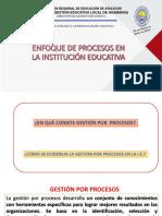 2 Ppt Enfoque de Procesos en La Institución Educativa