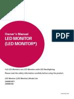 LG Monitor Manual
