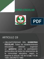 Diapositivas Ideas Clave Del Gobierno Escolarmary1