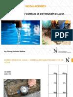 Conexiones y Sistema Agua
