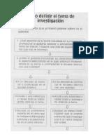 1. Como Definir El Tema de Investigacion-2 - Aula Metodologia