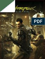 Cyberpunk 2070 Fuzionpunk 1st Ed