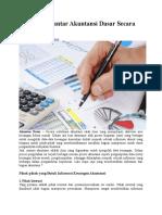 Artikel Pengantar Akuntansi Dasar Secara Lengkap